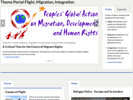Flight, Migration and Integration